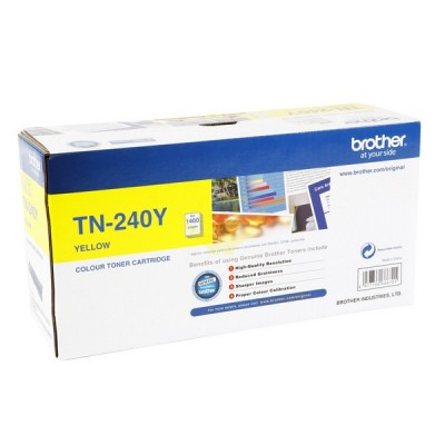 Toner Original BROTHER TN-240 'Y'