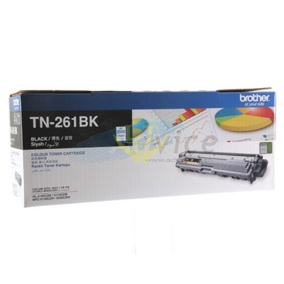 Toner Original BROTHER TN-261 'BK'